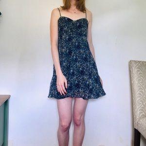 Urban Outfitters Dress Flirty Floral Sundress sz 2